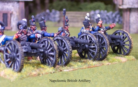 28mm Napoleonic British Artillery