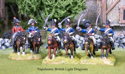 28mm Napoleonic British Light Dragoons