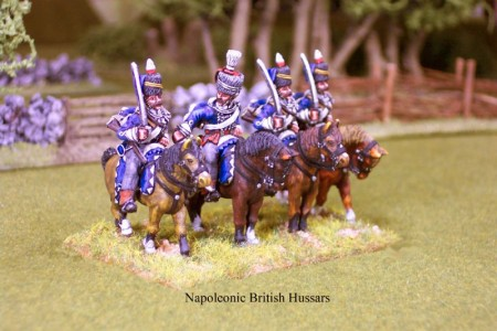 28mm Napoleonic British - Hussars