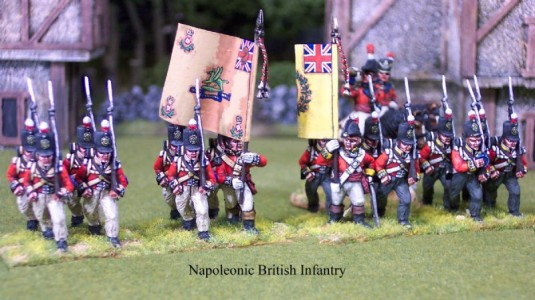 28mm Napoleonic British Infantry