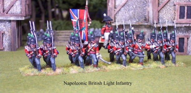 28mm Napoleonic British Light Infantry