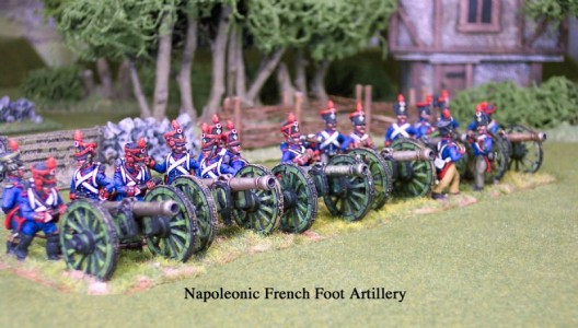 28mm Napoleonic French Artillery