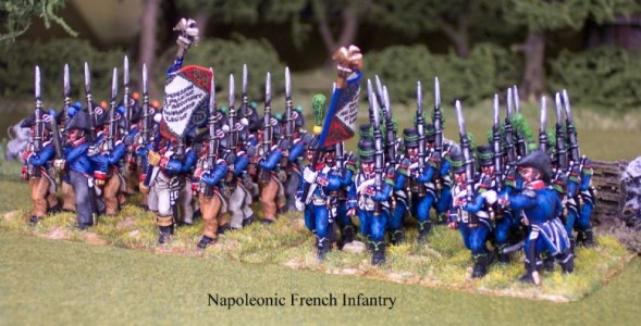 28mm Napoleonic French Infantry