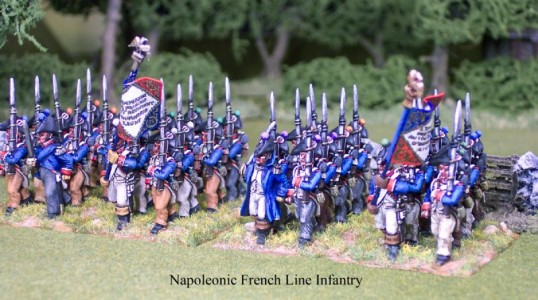 28mm Napoleonic French Line Infantry