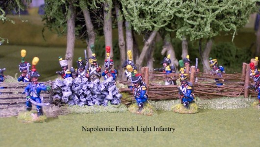 28mm Napoleonic French Light Infantry