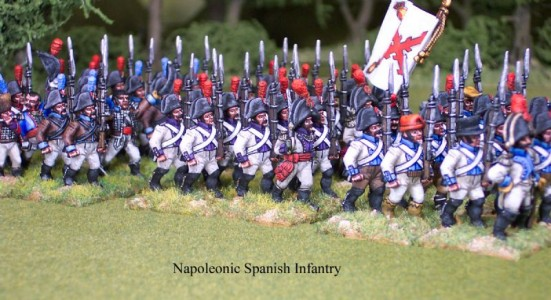 28mm Napoleonic Spanish Infantry