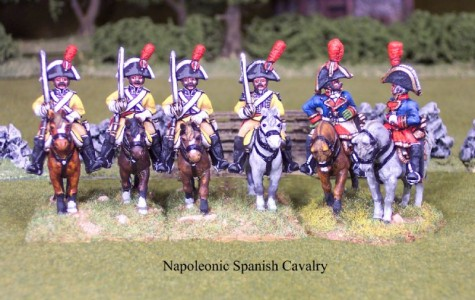 28mm Napoleonic Spanish Cavalry