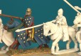Short surcoat and helm Front Rank Figurines Medieval Cavalry