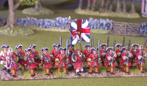 28mm WSS British Infantry / painted by Chris Thompson