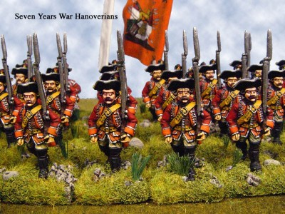 28mm SYW Hanoverian Unit / painted by Tim Cockrell