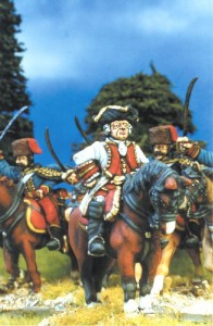 28mm SYW Austrian General / painted by Kevin Dallimore
