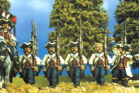 28mm SYW Hungarian Infantry painted by Kevin Dallimore