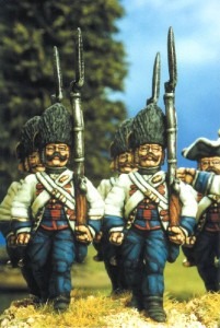 28mm SYW Hungarian Grenadiers  painted by Kevin Dallimore