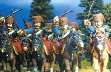 28mm SYW Austrian Hussars / painted by Kevin Dallimore