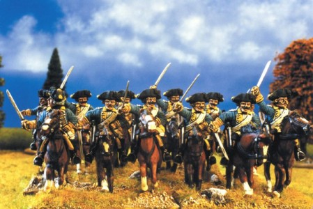 28mm SYW Prussian Dragoons / painted by Kevin Dallimore