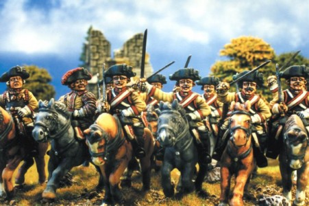 28mm SYW Prussian Cuirassiers / painted by Kevin Dallimore