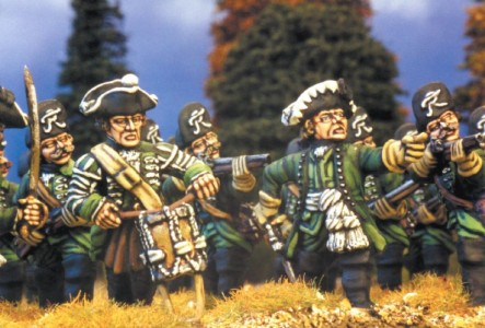 28mm SYW Prussian Jager / painted by Kevin Dallimore