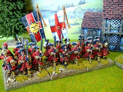 28mm WSS - The Buffs / painted by Brian Phillips