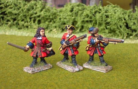 28mm WSS British Dismounted Dragoons / painted by Ian Stables