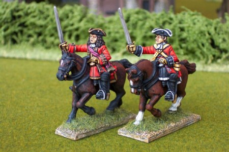 28mm WSS British Cavalry / painted by Ian Stables