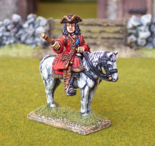 28mm WSS Duke of Marlbourgh (BSP1 + HV1B) / painted by Ian Stables
