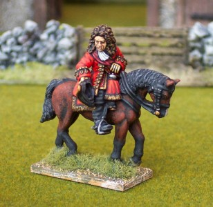 28mm WSS Lord Cutts of Gowran (BSP5 + HV2B) / painted by Ian Stables