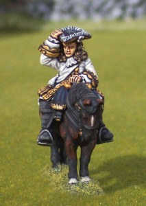 28mm WSS Marshall Tallard (FSP2 + HV1A) / painted by Ian Stables