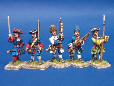 28mm WSS Infantry (SS43, 5, 38, 30, 45) / painted by Ian Stables