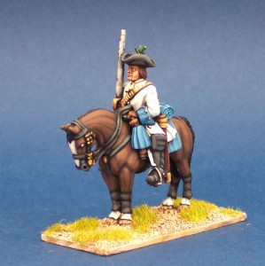 28mm WSS Allied Cavalryman / painted by Steve Bowerman