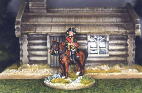 28mm SYW Russian - Field Marshall Count Apraskin (SYRP1 + LT1A) / painted by Kevin Dallimore