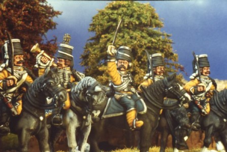 28mm SYW Prussian Hussars / painted by Kevin Dallimore