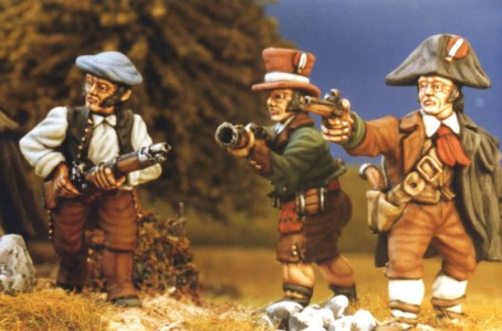 28mm Napoleonic Spanish Guerillas / painted by Kevin Dallimore