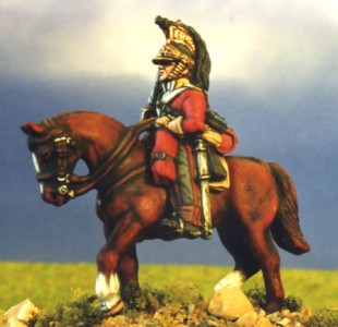 28mm Napoleonic British Heavy Cavalry (BNC24 + HV2B) /  painted by Kevin Dallimore