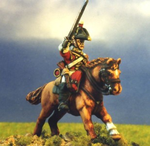 28mm Napoleonic British Heavy Cavalry (BNC2 + HV5A) / painted by Kevin Dallimore