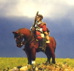 28mm Napoleonic British Heavy Cavalry (BNC3 + HV1A) / painted by Kevin Dallimore