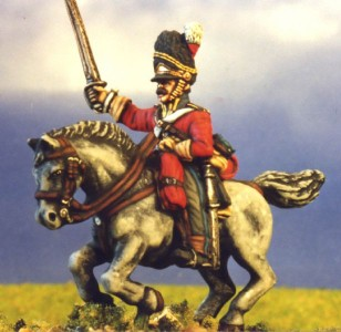 28mm Napoleonic Scots Grey (BNC30 + HV4B) / painted by Kevin Dallimore