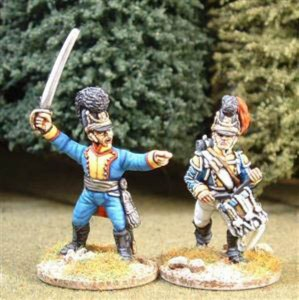 28mm Napoleonic Bavarian Infantry /  painted by Steve Dyer
