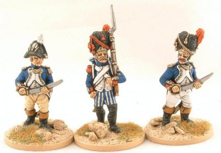 28mm Napoleonic French Infantry / painted by Steve Dyer