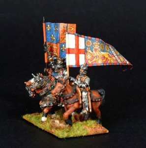 28mm Wars of the Roses MPK1 painted as Edward IV /  painted by Robin Shackleton