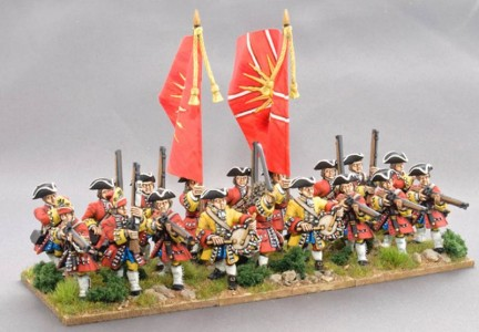 28mm WSS British Infantry / painted by Ray King