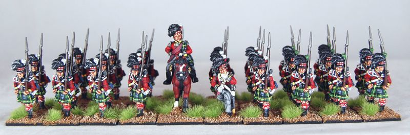 28mm Napoleonic British - Gordon Highlanders