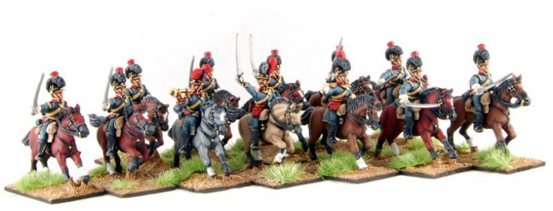28mm Napoleonic Portuguese Cavalry / painted by Artmaster Studios