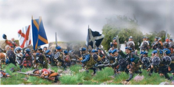 28mm Jacobite Highlanders / 28mm Jacobite Highlanders