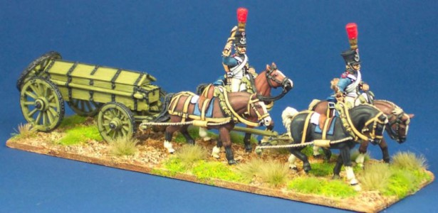 28mm French Cassion Set / painted by Steve Dyer.
