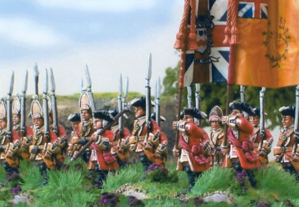 28mm Government army marching
