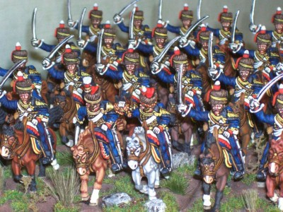 28mm Napoleonic 1st Kings German Legion. / painted by Paul Armer from Ray King's collection