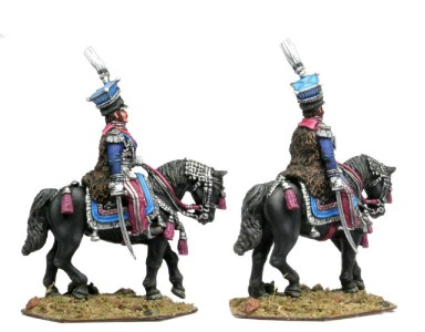 28mm Napoleonic Polish - Prince Josef Poinatowski conversion work to figure and horse and / painting by Maxim Veretelnikov.
