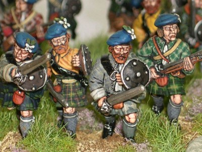 Jacobite Highlanders group picture 1