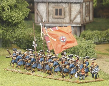 Dutch Guards / Figures painted by El Mercenario, flags by John Hutchinson.