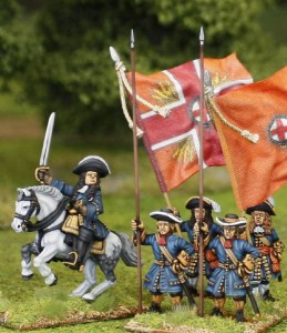 William of Orange & pike. / painted by El Mercenario, flags by John Hutchinson.
